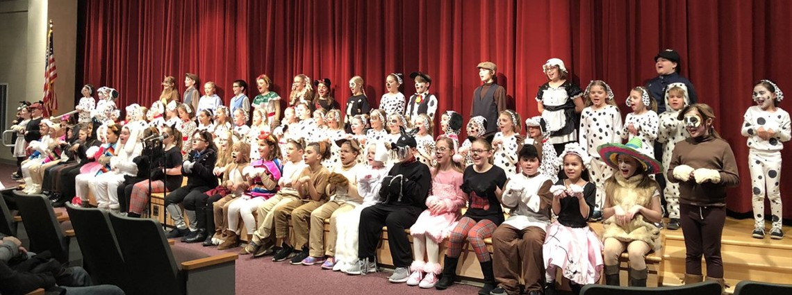 Great job to everyone involved in Willow Creek Elementary's production of 101 Dalmations Kids...