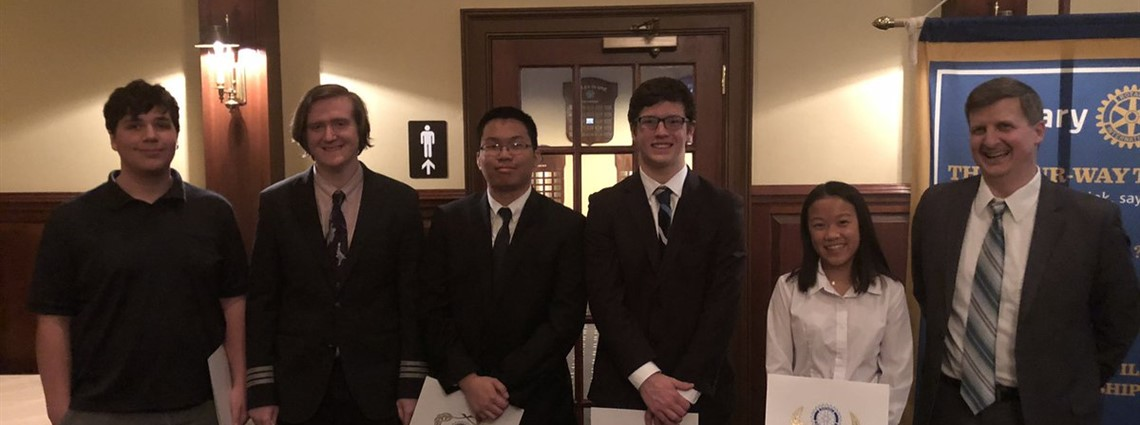Congratulations to the FAHS students who participated in Rotary's  Four Way Test speech competition. Awesome speeches!!